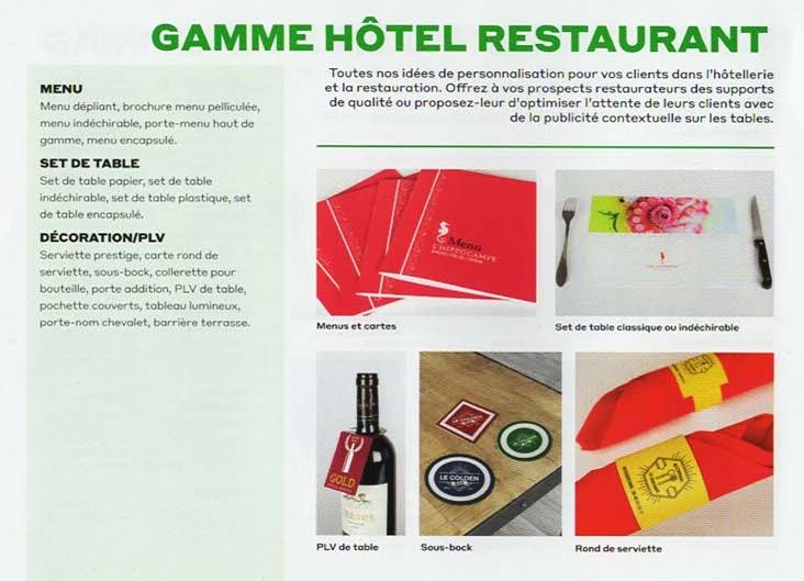Hotels et Restaurants