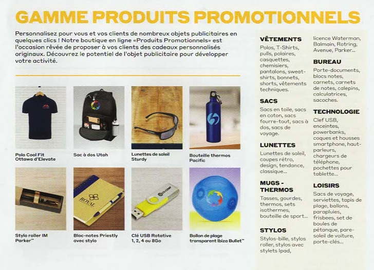 Produits Promotionnels
